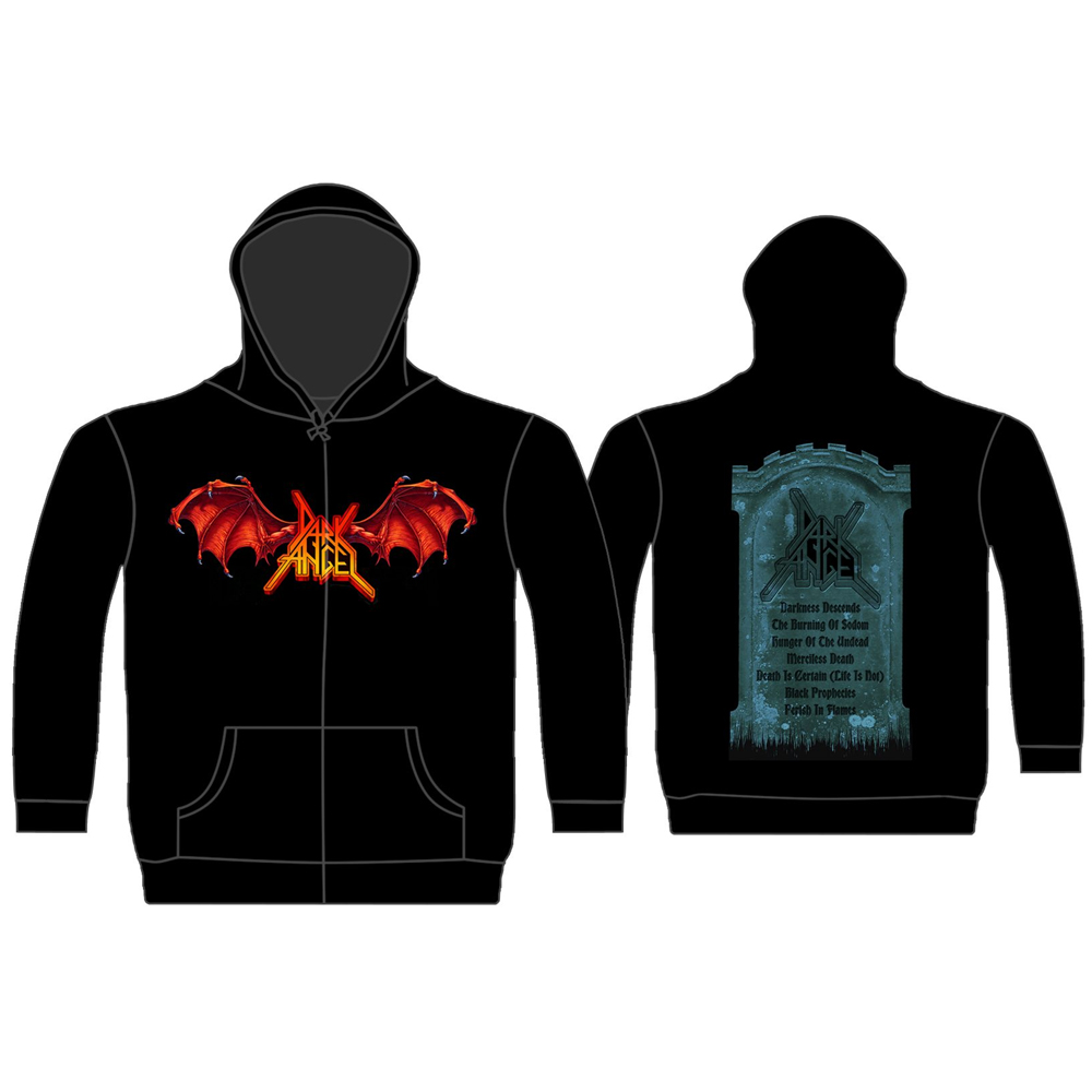 Dark Angel - Darkness Descends (Zip Hoodie)
