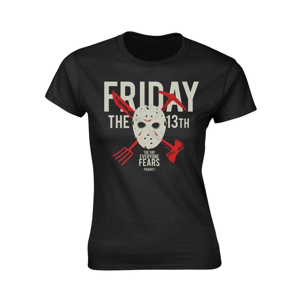 Friday The 13th - Day Of Fear (Ladies)