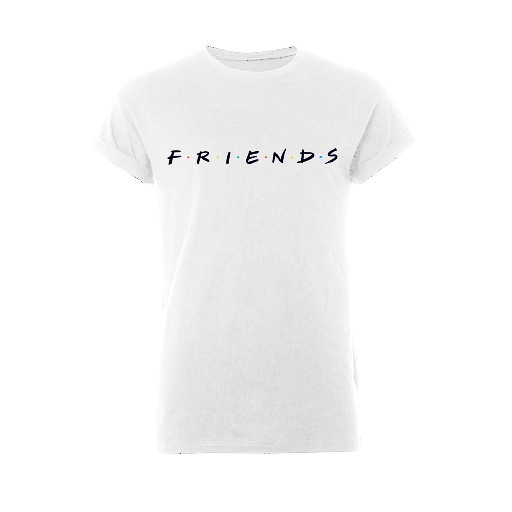 Friends - Logo (Rolled Sleeves)