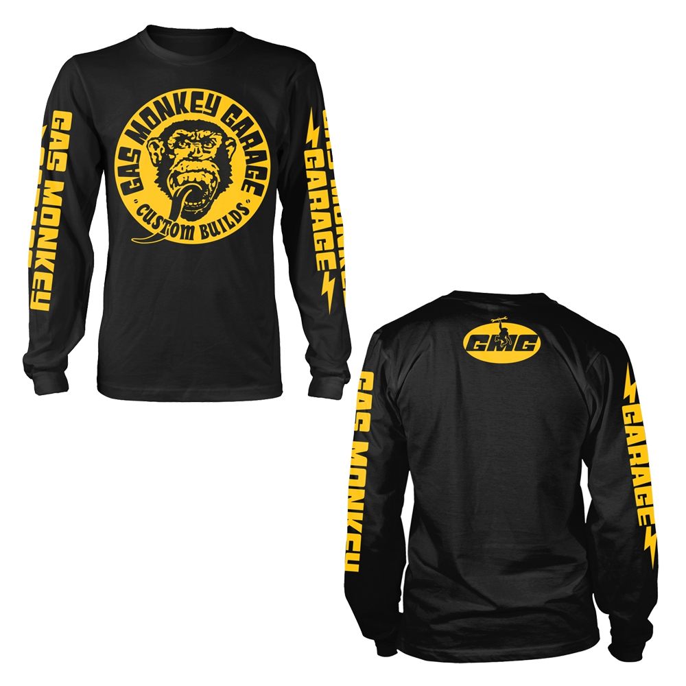 Gas Monkey Garage - Big Yellow Logo (Longsleeve)