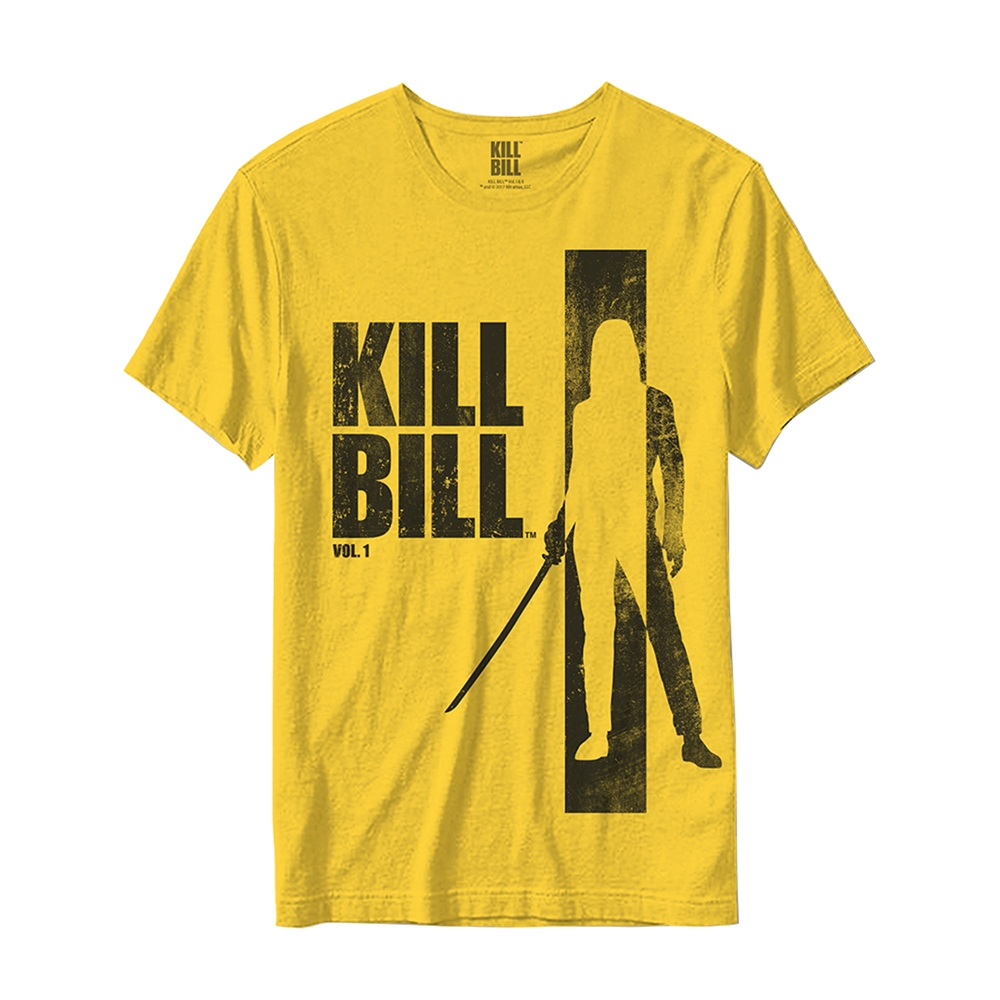 Kill Bill - Silhouette (Yellow)