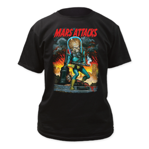 Mars Attacks - City Destruction (Black)