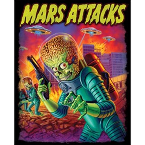 Mars Attacks - UFOs Attack (Black)