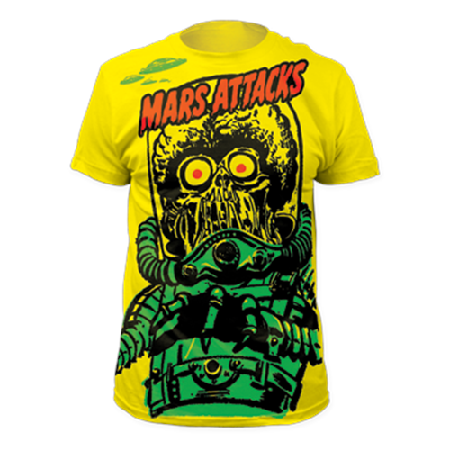 Mars Attacks - Big Yellow Martian (Yellow)