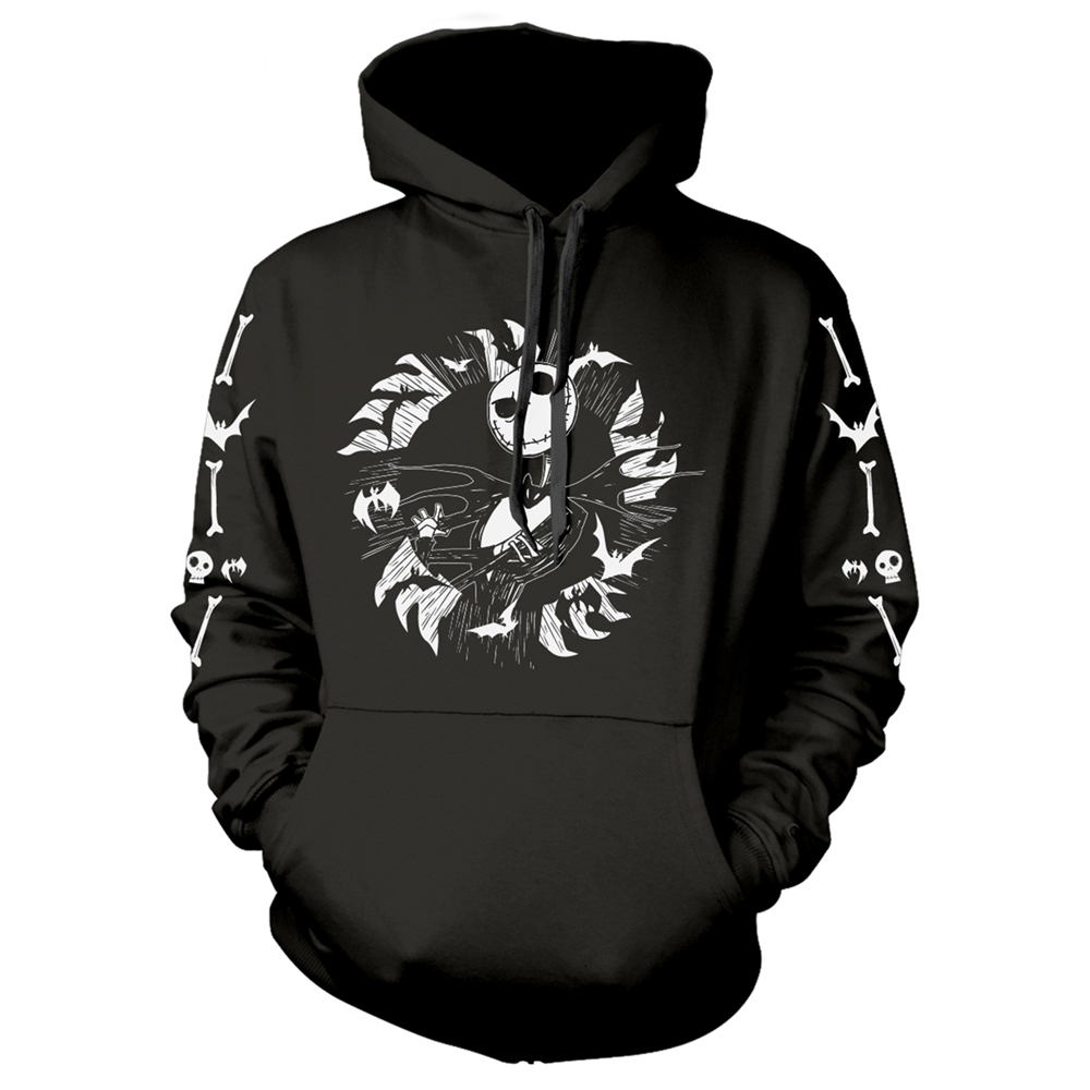 Nightmare Before Christmas - Jack Bat Circle (Hoodie)