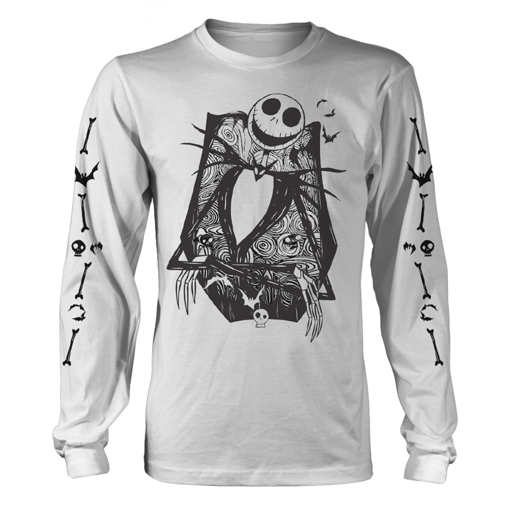 Nightmare Before Christmas - Jack Crossed Arms Sleeve (White)