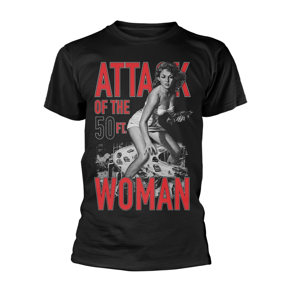 Plan 9 Movies - Attack Of The 50ft Woman (Black)