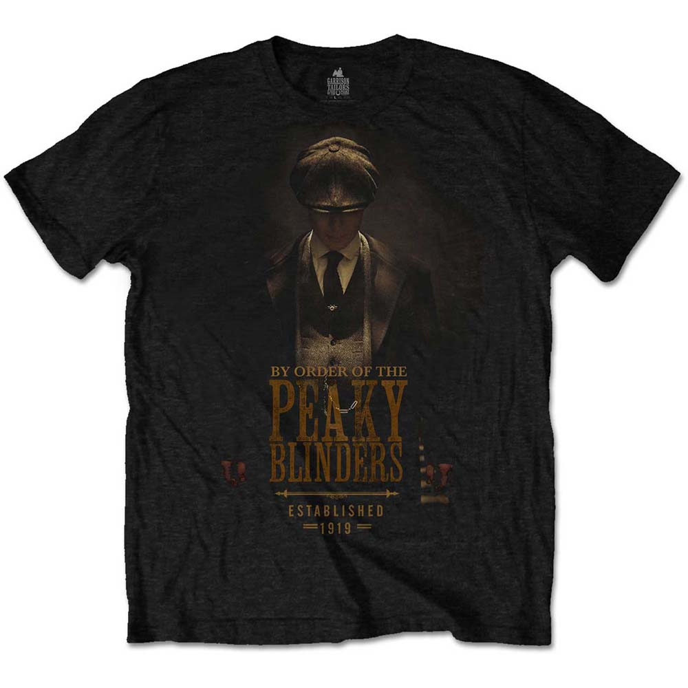 Peaky Blinders - Tommy Shelby Established 1919 (Black)