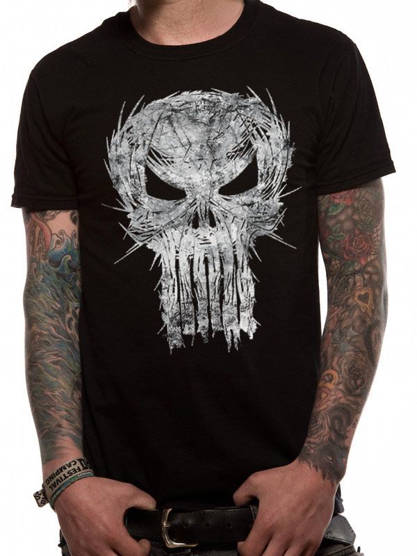 The Punisher - Shatter Skull (Black)