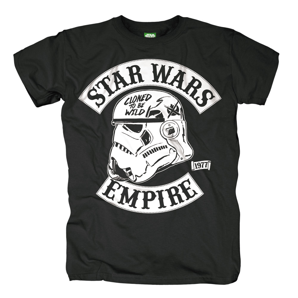 Star Wars - Cloned To Be Wild (Black)
