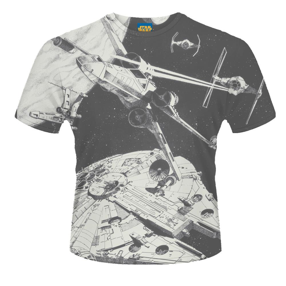 Star Wars - Space Battle (Grey)