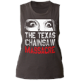 Texas Chainsaw Massacre Don't Look Now (Vintage Black) (Womens) USA Import T-Shirt (Womens)