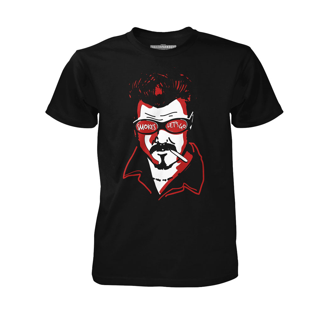 Trailer Park Boys - Ricky Smokes (Black)