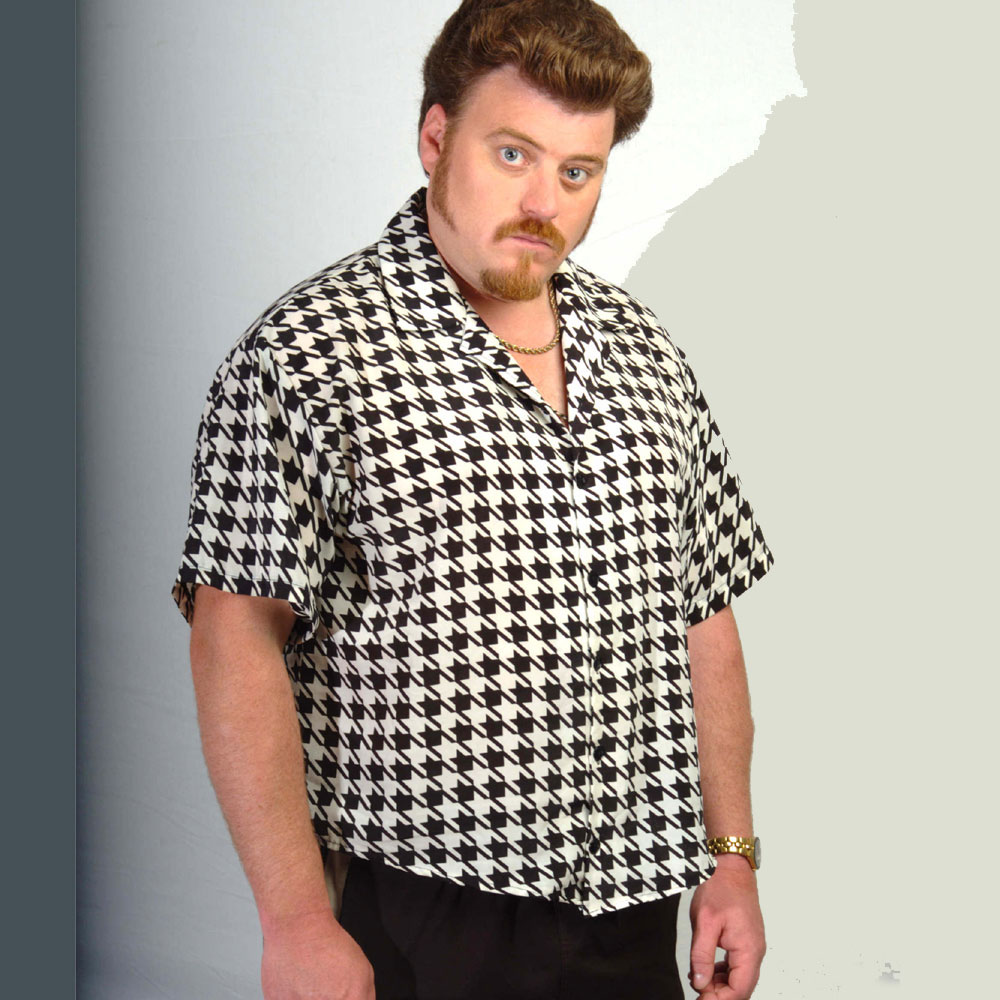 Trailer Park Boys - Houndstooth (Black/White)