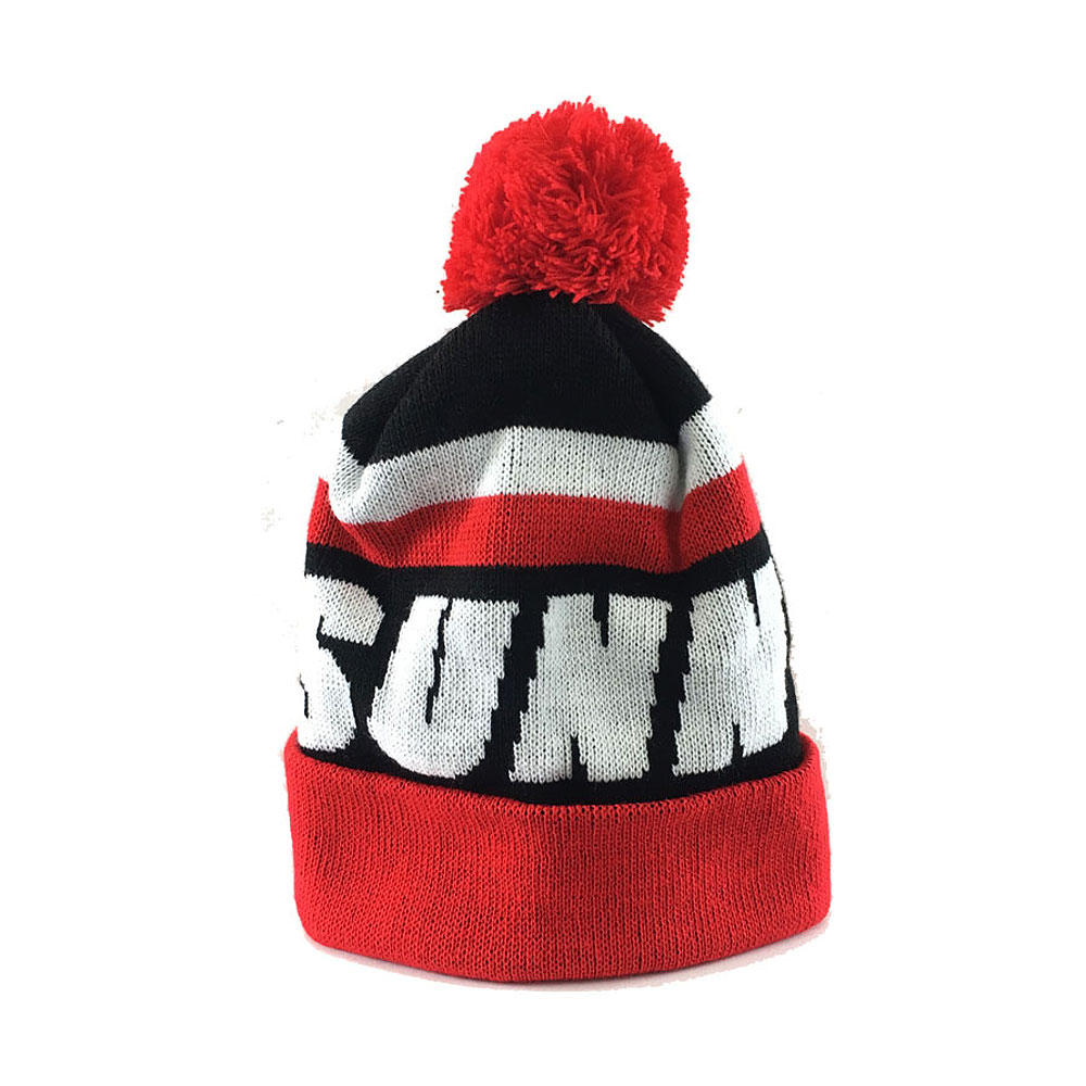 Trailer Park Boys - Red and Black Bobble Hat