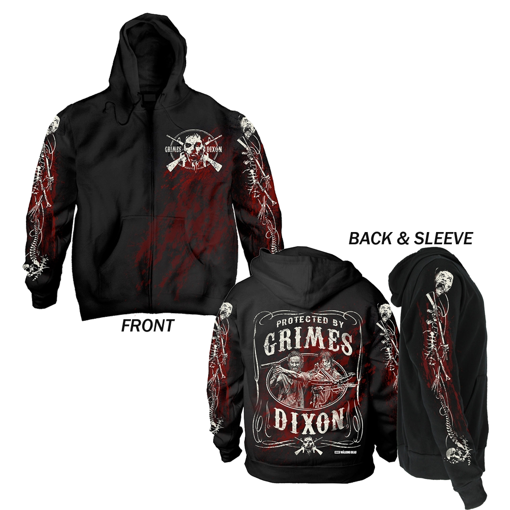 The Walking Dead - G&D Filigree (Zipped Hoodie)