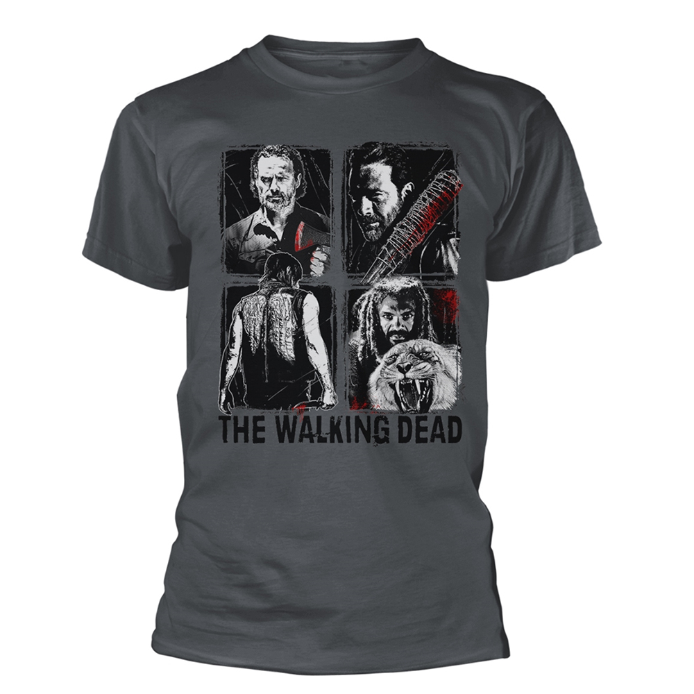 The Walking Dead - 4 Characters