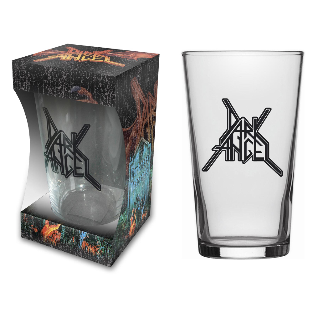 Dark Angel - Logo Beer Glass