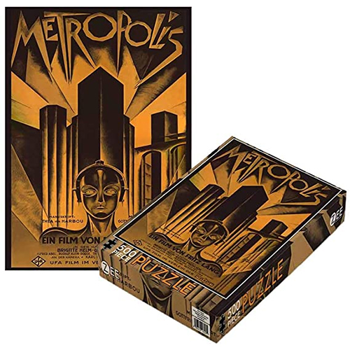 Plan 9 Movies - Metropolis (500 Piece Jigsaw Puzzle)