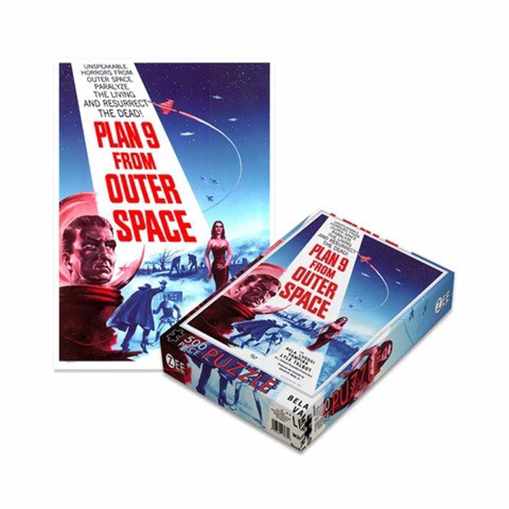 Plan 9 Movies - Plan 9 From Outer Space (500 Piece Puzzle)