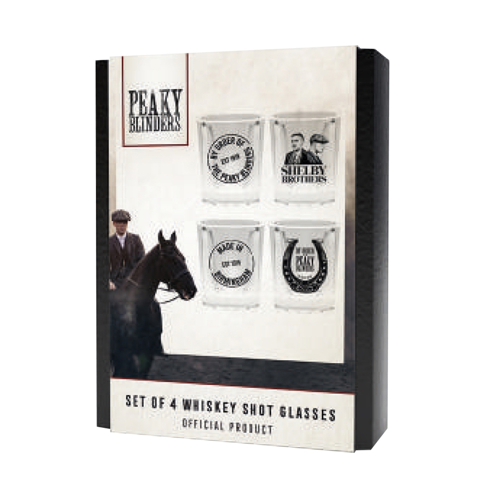 Peaky Blinders - Peaky Blinders - Shelby Brothers Whiskey Shots (Shot Glasses Set)