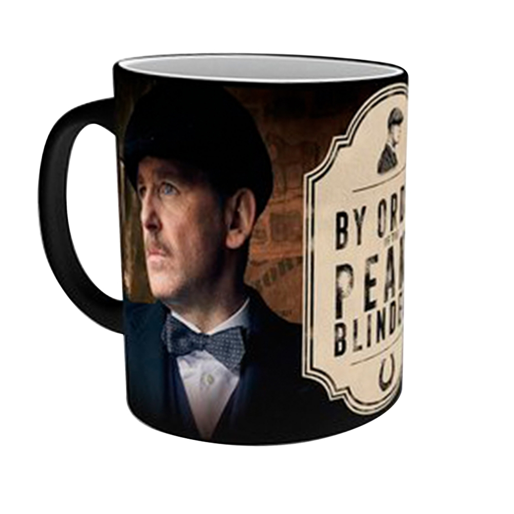 Peaky Blinders - Arthur Shelby and Logo (Heat Changing Mug)