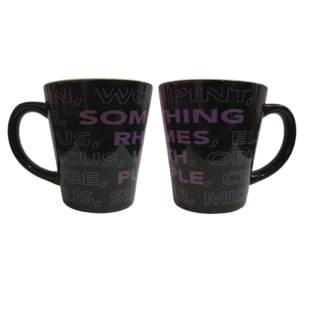 Something Rhymes with Purple - Gongoozle (Latte Mug)