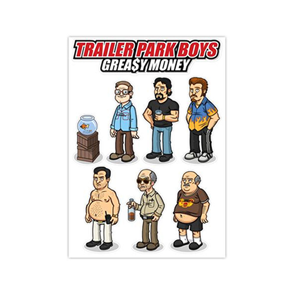 Trailer Park Boys - TPB Vinyl Character Stickers