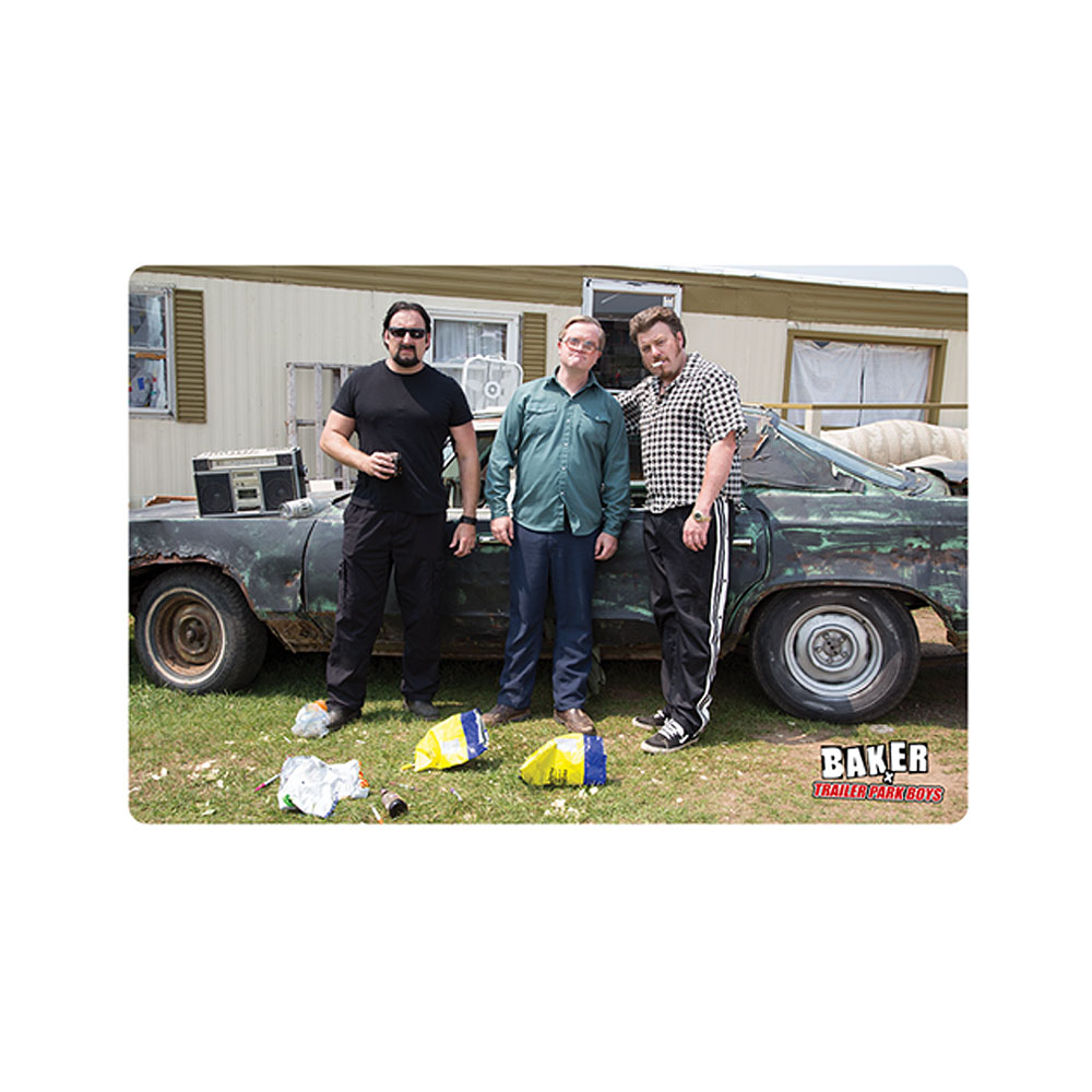 Trailer Park Boys - Baker Skateboards X Trailer Park Boys Photograph Sticker
