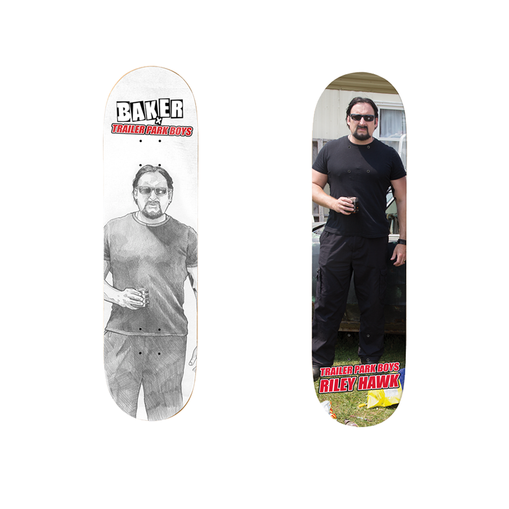 Trailer Park Boys - Baker Skateboards X Trailer Park Boys - Julian 'Riley Hawk' Deck