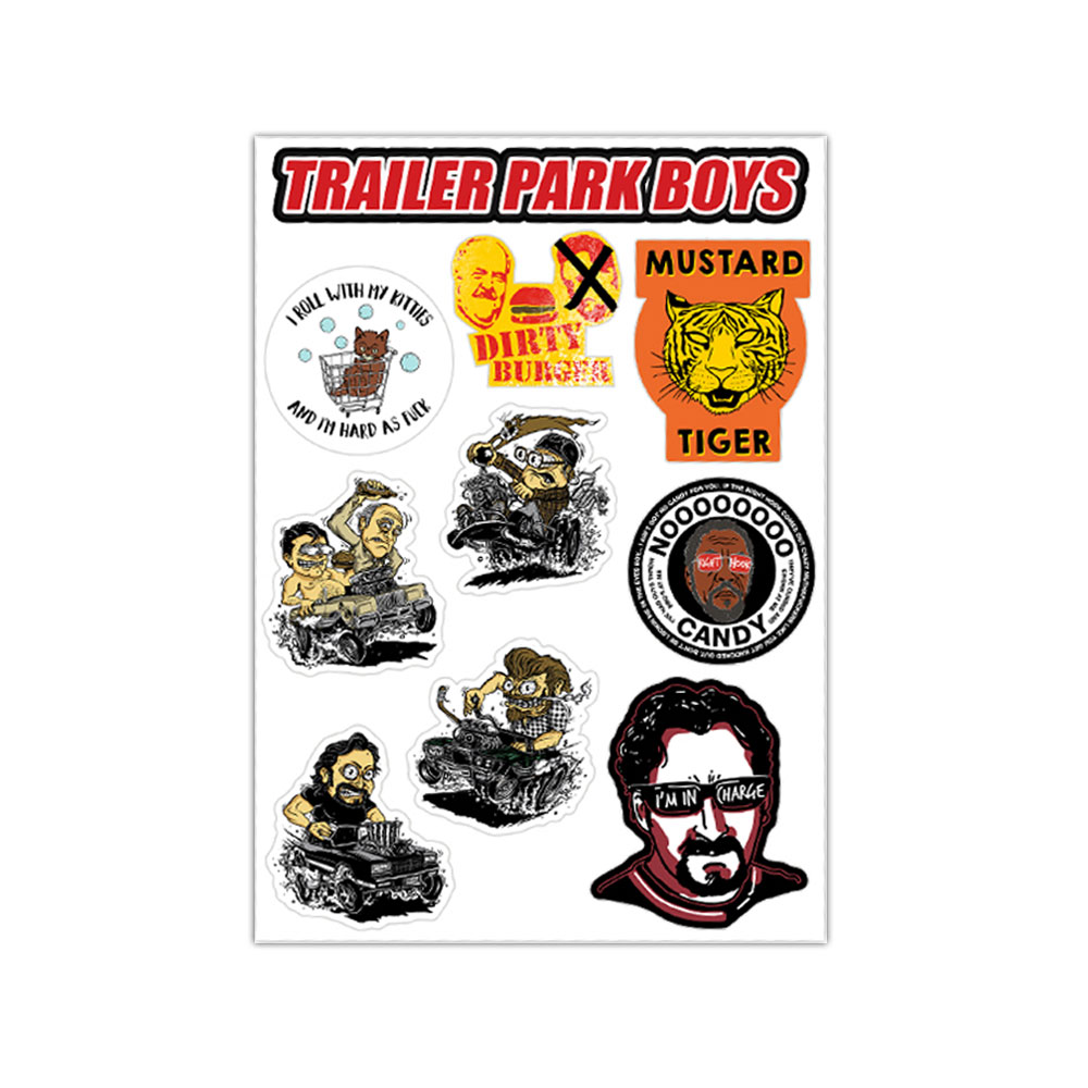 Trailer Park Boys - TPB Vinyl Stickers (Various)