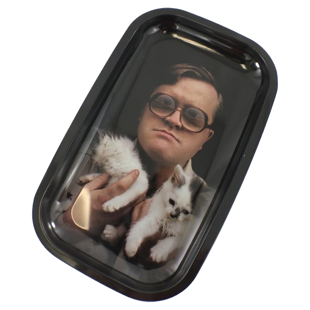 Trailer Park Boys - TPB 'Bubbles Kitty' Rolling Tray (Medium)