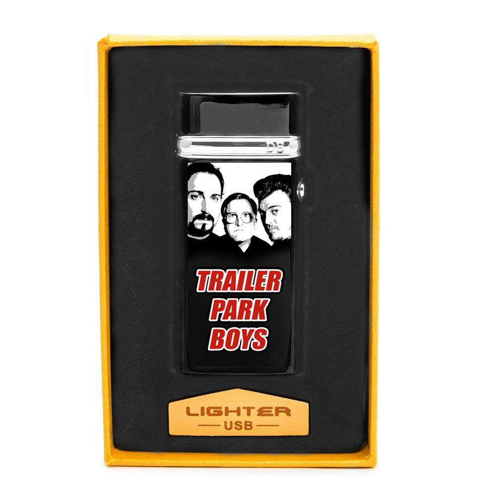 Trailer Park Boys - USB Black Plasma Lighter
