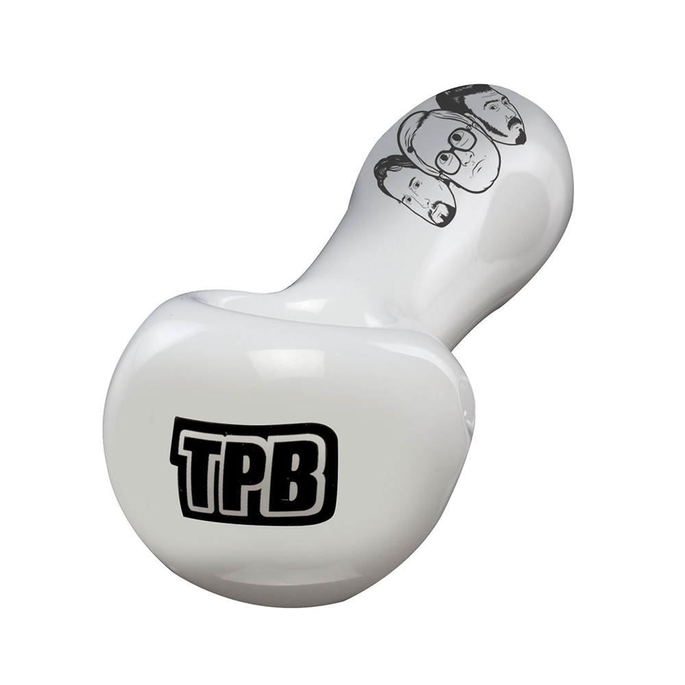 Trailer Park Boys - TPB Hand Pipe - White