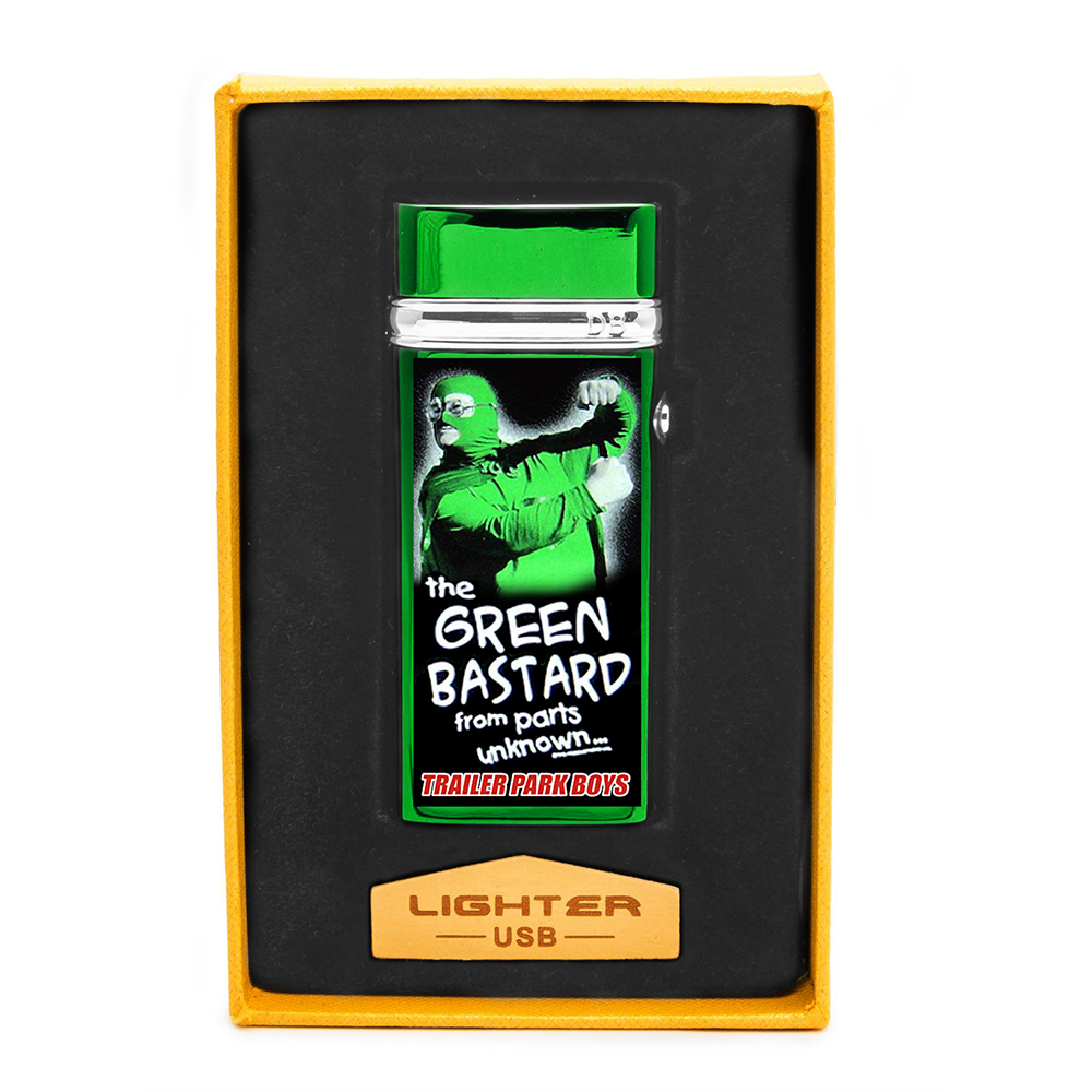 "Trailer Park Boys - USB ""Green Bastard"" Plasma Lighter"