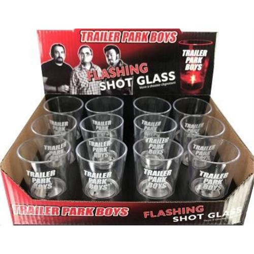 Trailer Park Boys - Free Shot Glass Black Friday