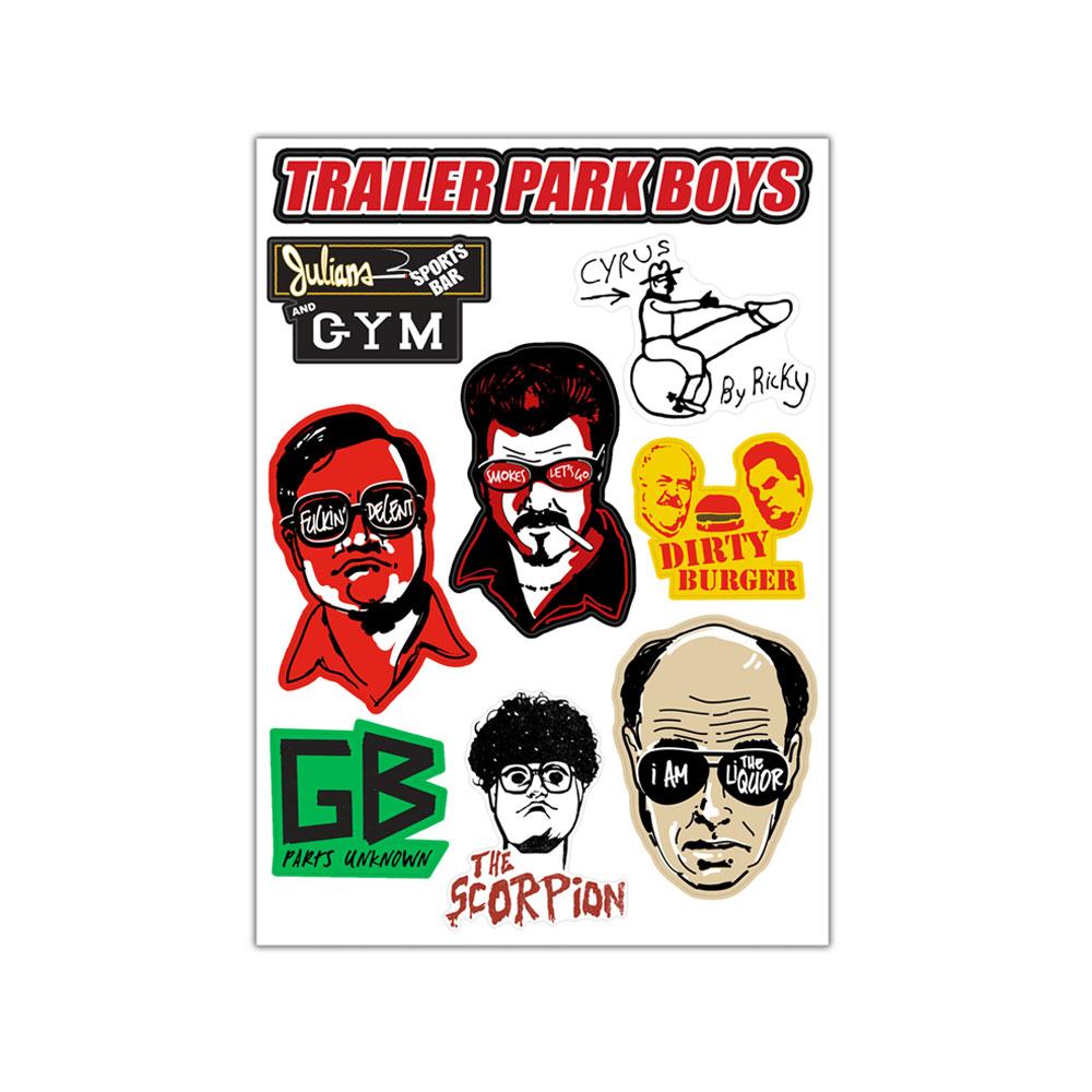 trailer park boys tpb vinyl stickers assorted