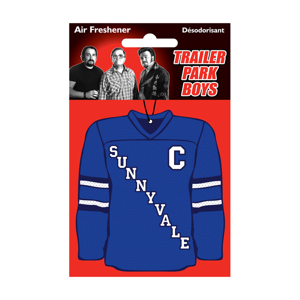 Trailer Park Boys - Hockey Jersey Air Freshener (Blue)