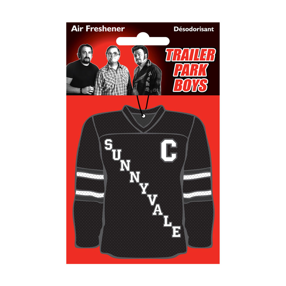 Trailer Park Boys - Hockey Jersey Air Freshener (Black)