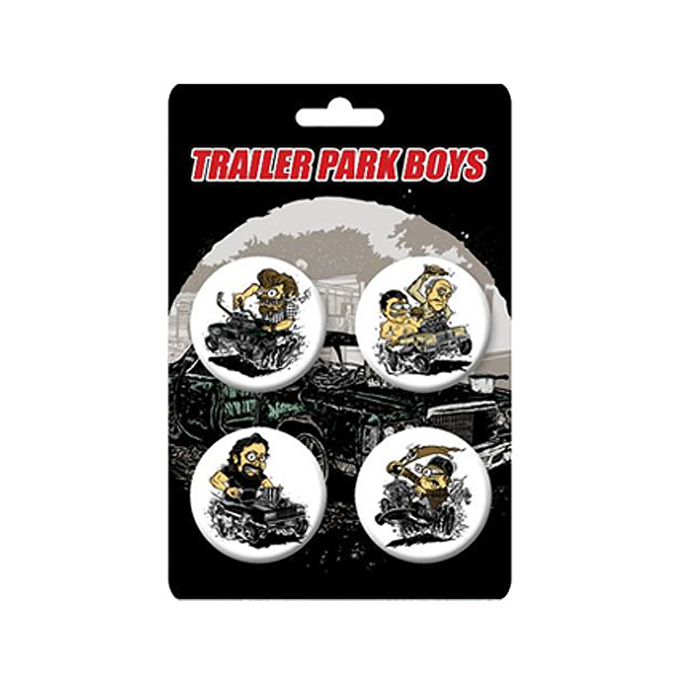 Trailer Park Boys - Vehicles Badge Set