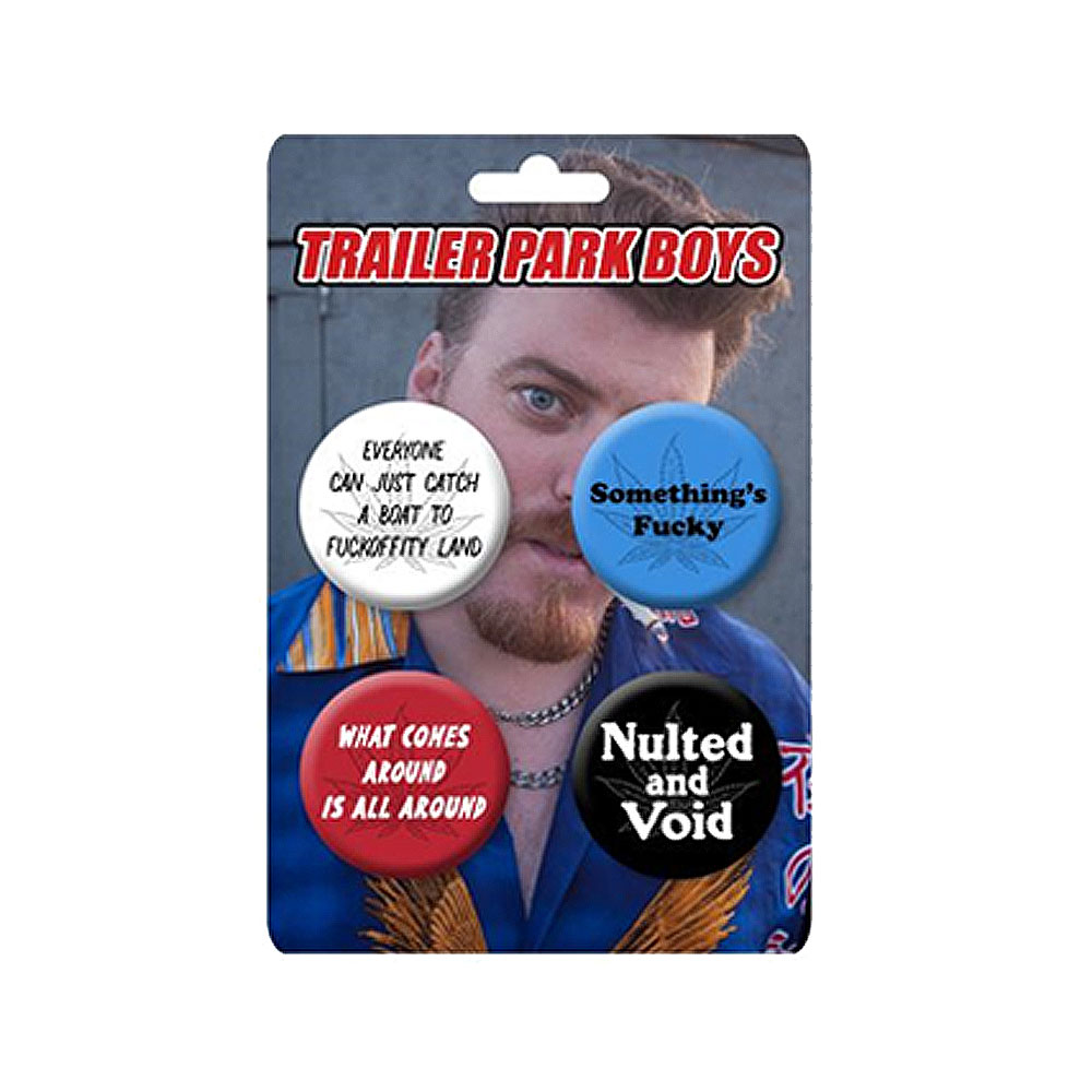 Trailer Park Boys - Rickyism Badge Set