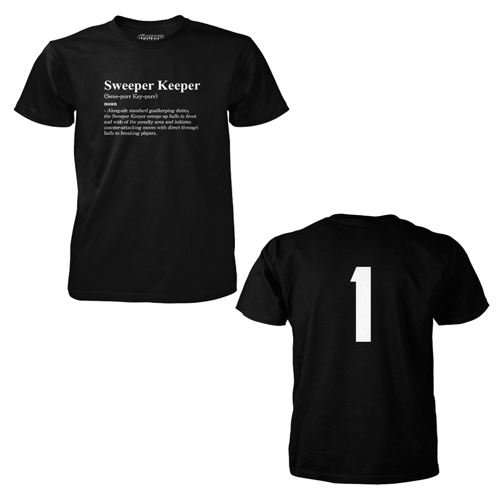 Football Manager - Sweeper Keeper (Black)
