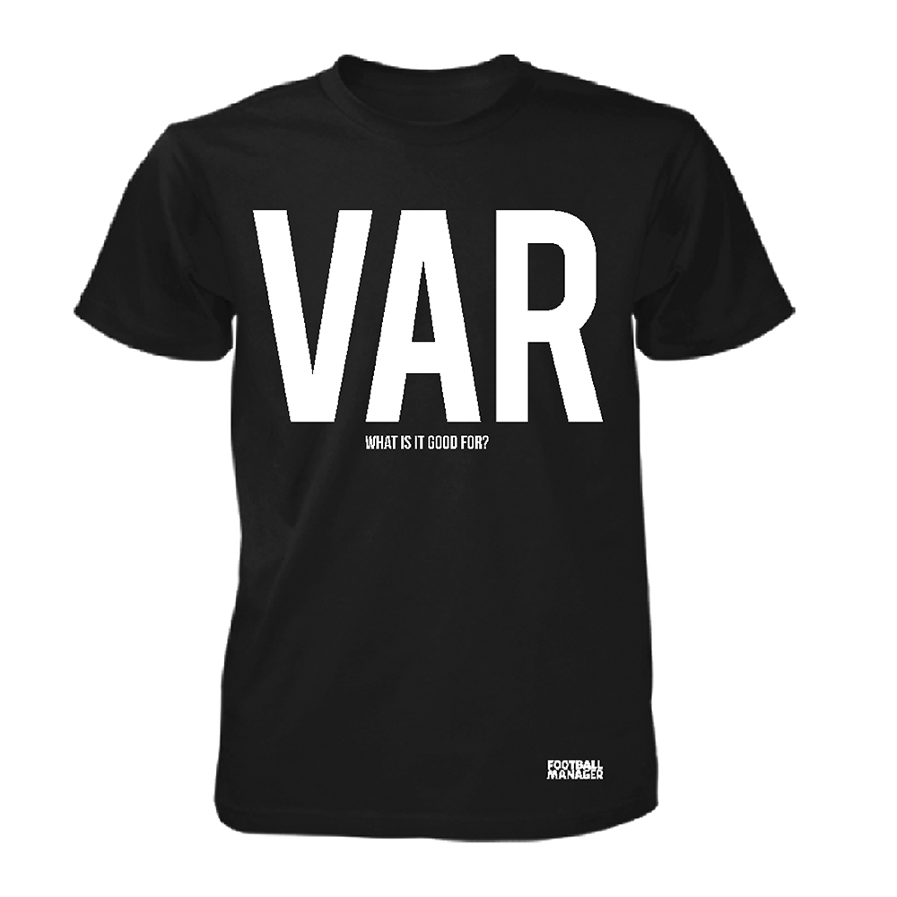 Football Manager - VAR (Black)