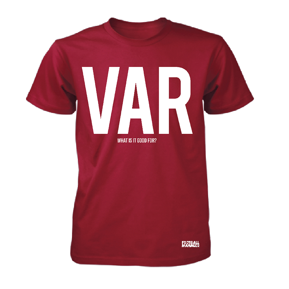 Football Manager - VAR (Red)