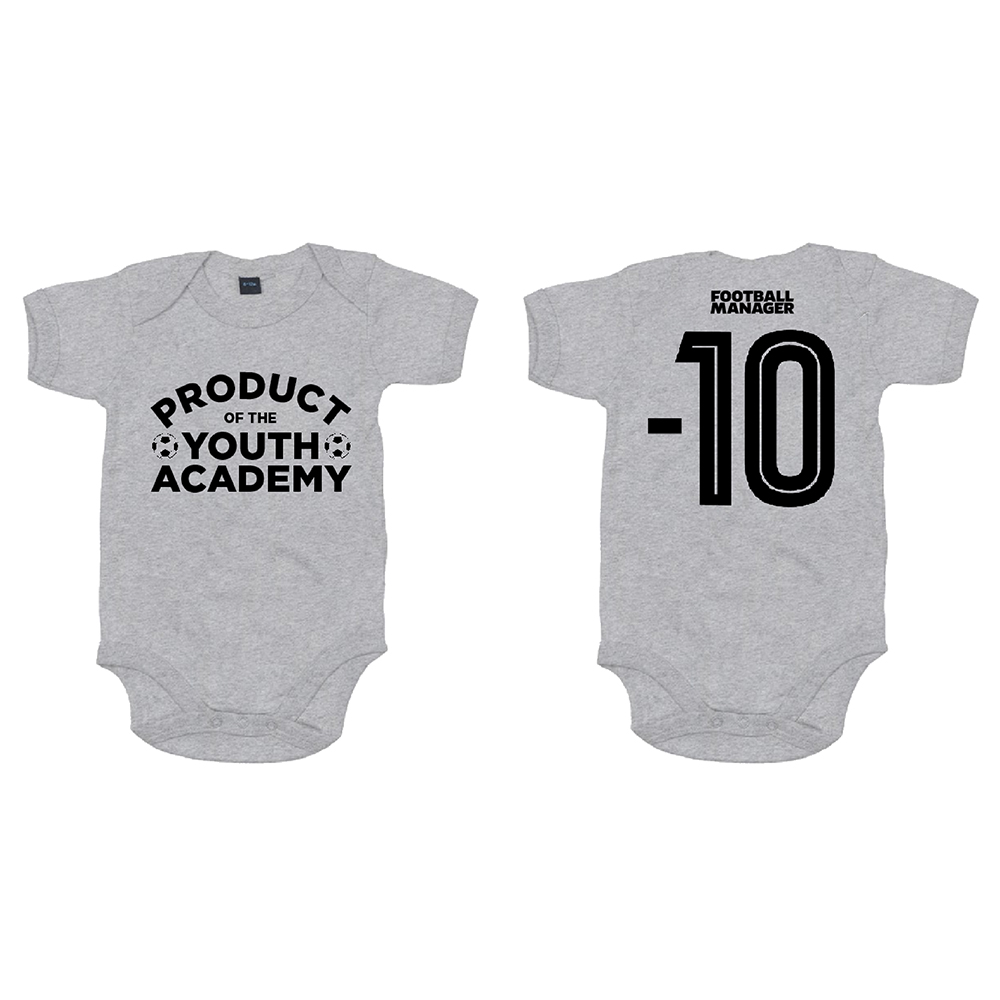 Football Manager - Product Of The Youth Academy (Heather Grey Melange)