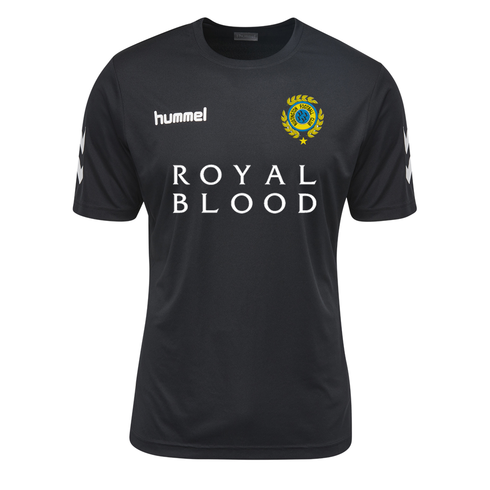 Rustington FC - Rustington FC Royal Blood Black Kit