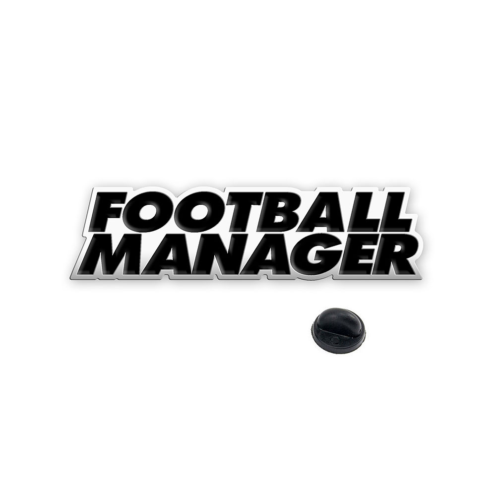 Football Manager - Logo Enamel Badge