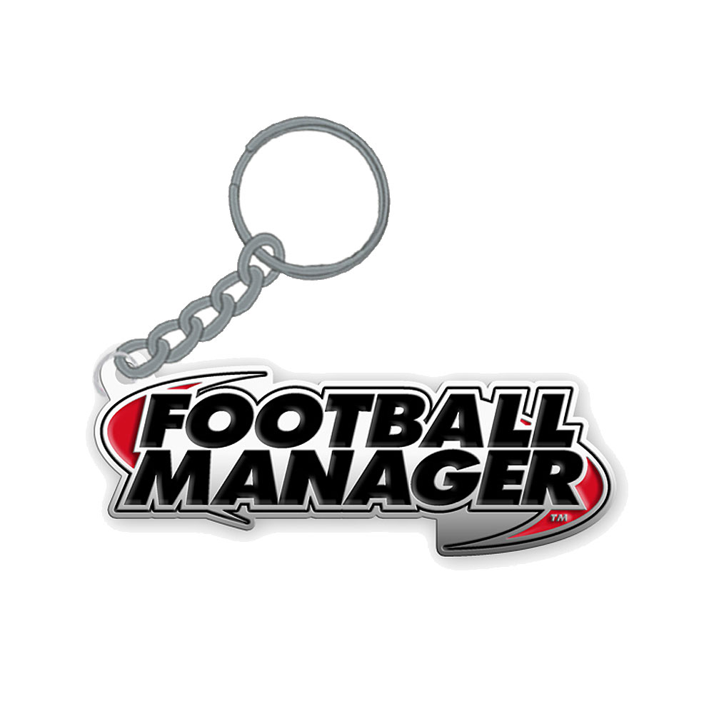Football Manager - Logo Enamel Keyring
