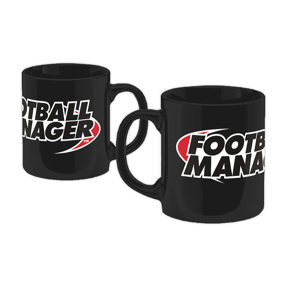 Football Manager - Logo (Black)