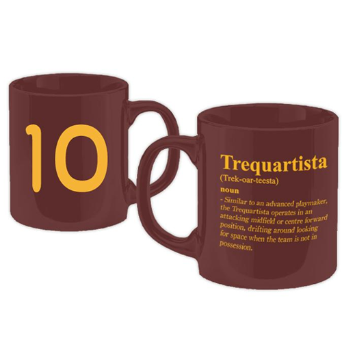 Football Manager - Trequartista Burgundy Mug